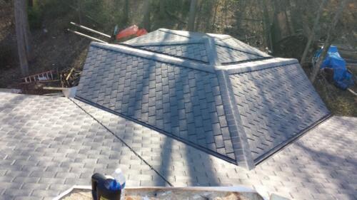 Synthetic Cedar Roofing _Ecostar 2