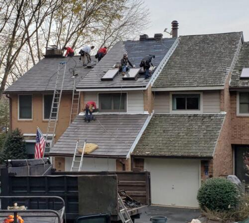 Synthetic Cedar Roofing