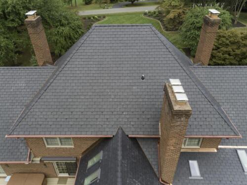 Davinci Synthetic Slate_back upper roof